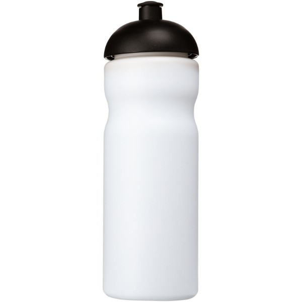 Baseline® Plus 650 ml dome lid sport bottle - White / Solid black