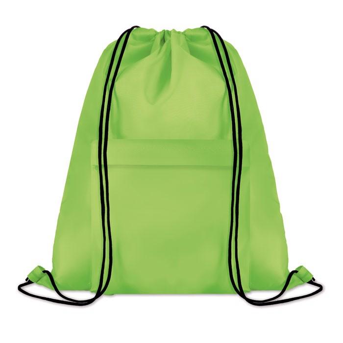 Large drawstring bag Pocket Shoop - Lime