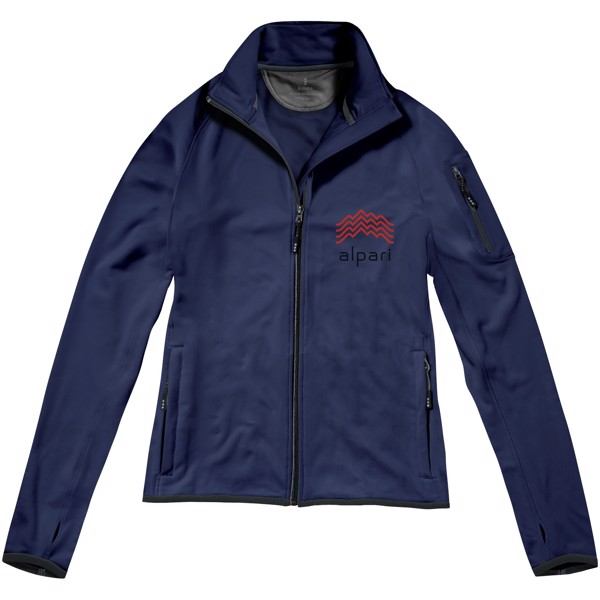 Mani power fleece full zip ladies jacket - Navy / XS