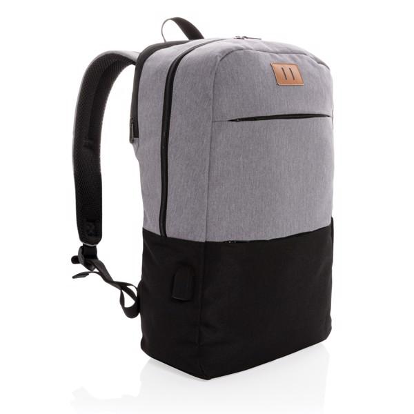 """Moderní USB & RFID batoh na 15,6"""" notebook"""