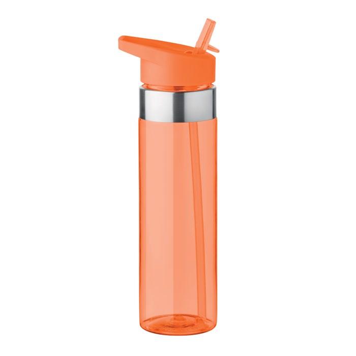 Butelka z tritanu 650ml Sicilia - przezroczysty pomarańczowy