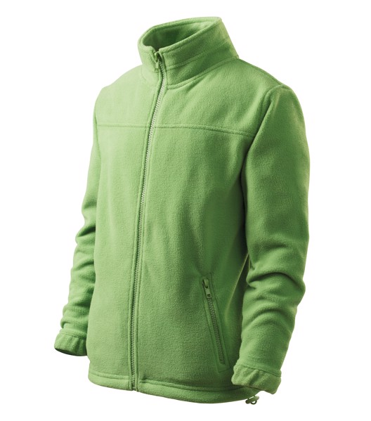 Fleece Kids Malfini Jacket - Grass Green / 4 years