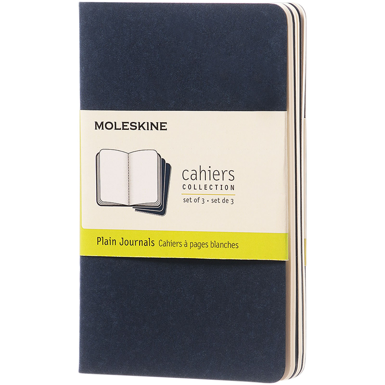Cahier Journal PK - plain - Indigo blue