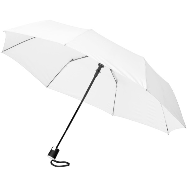 "Wali 21"" foldable auto open umbrella - White"