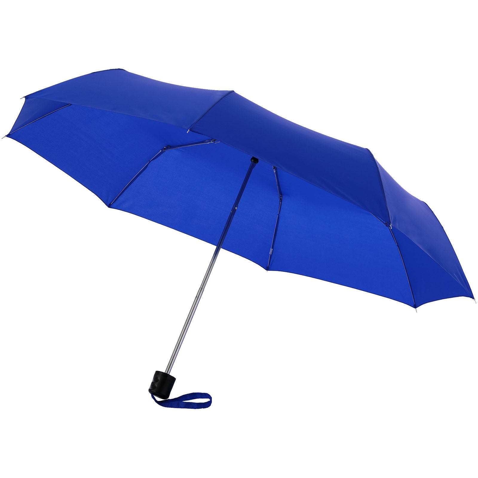 """21,5"""" skládací deštník Ida - Světle modrá"""