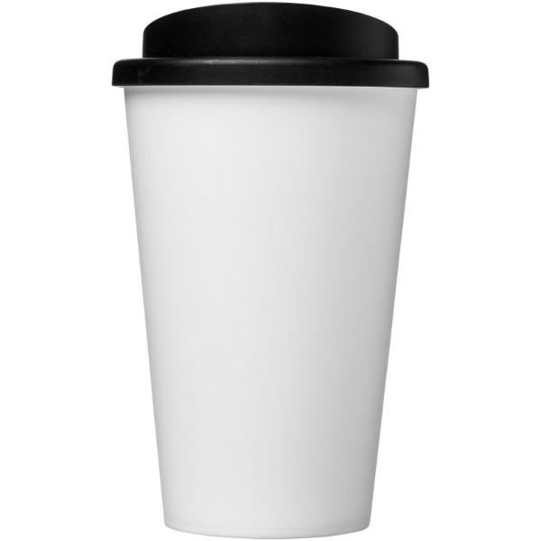 Americano® Vaso térmico de 350 ml - Blanco / Negro intenso