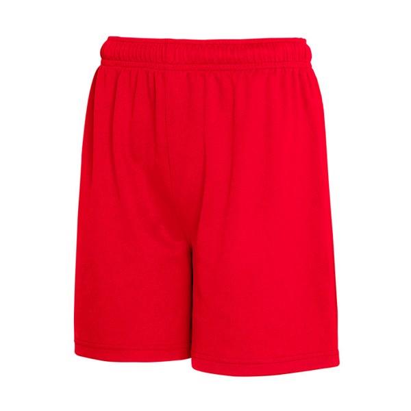 Dziecięce Spodnie sportowe Kid Performance Short 64-007-0 - Czerwony / M