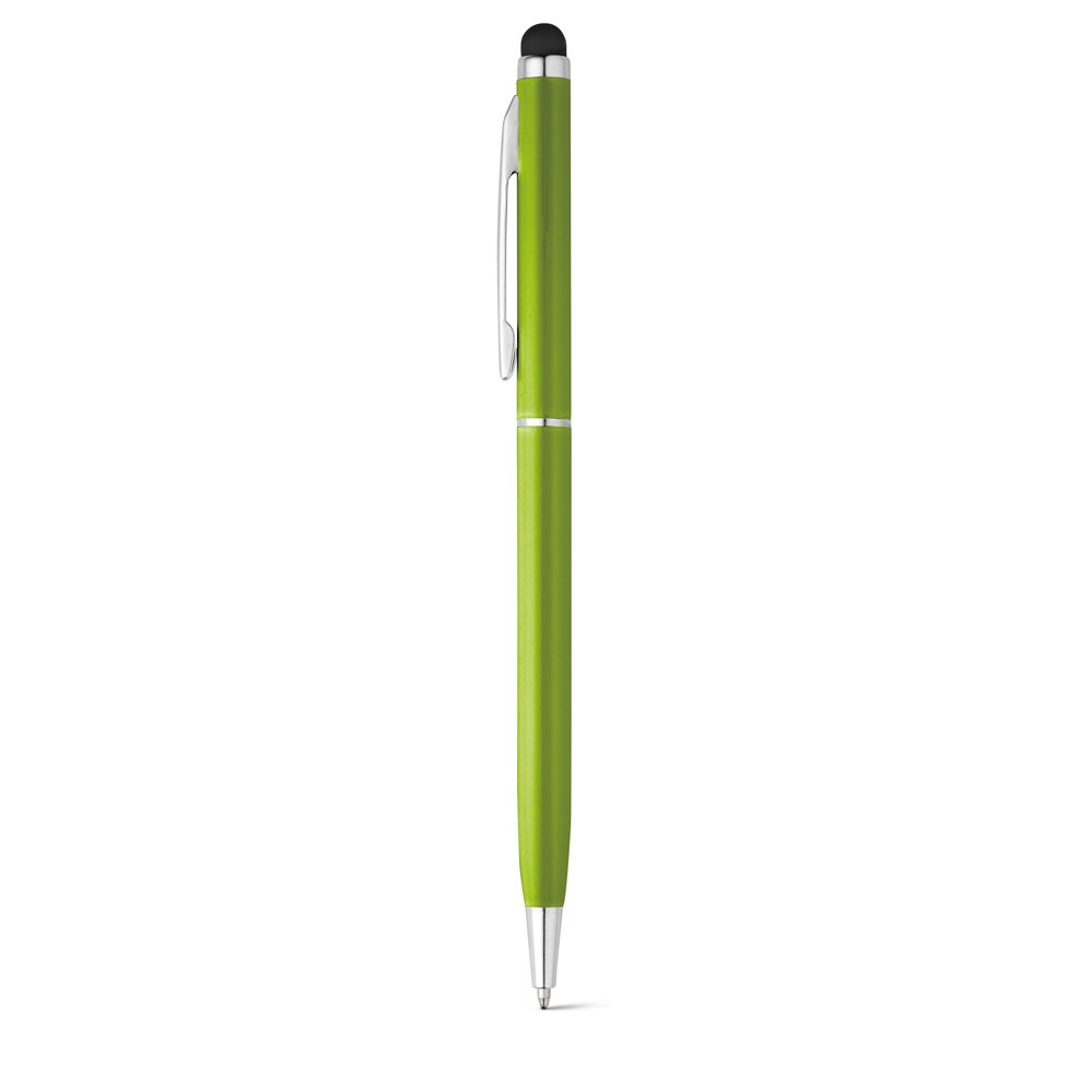 ZOE. Ball pen in aluminium - Light Green