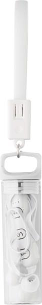 BT/Wireless Kopfhörer 'Package' aus Kunststoff - White