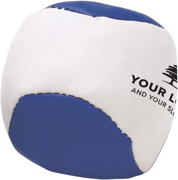 Imitation leather juggling ball - Blue
