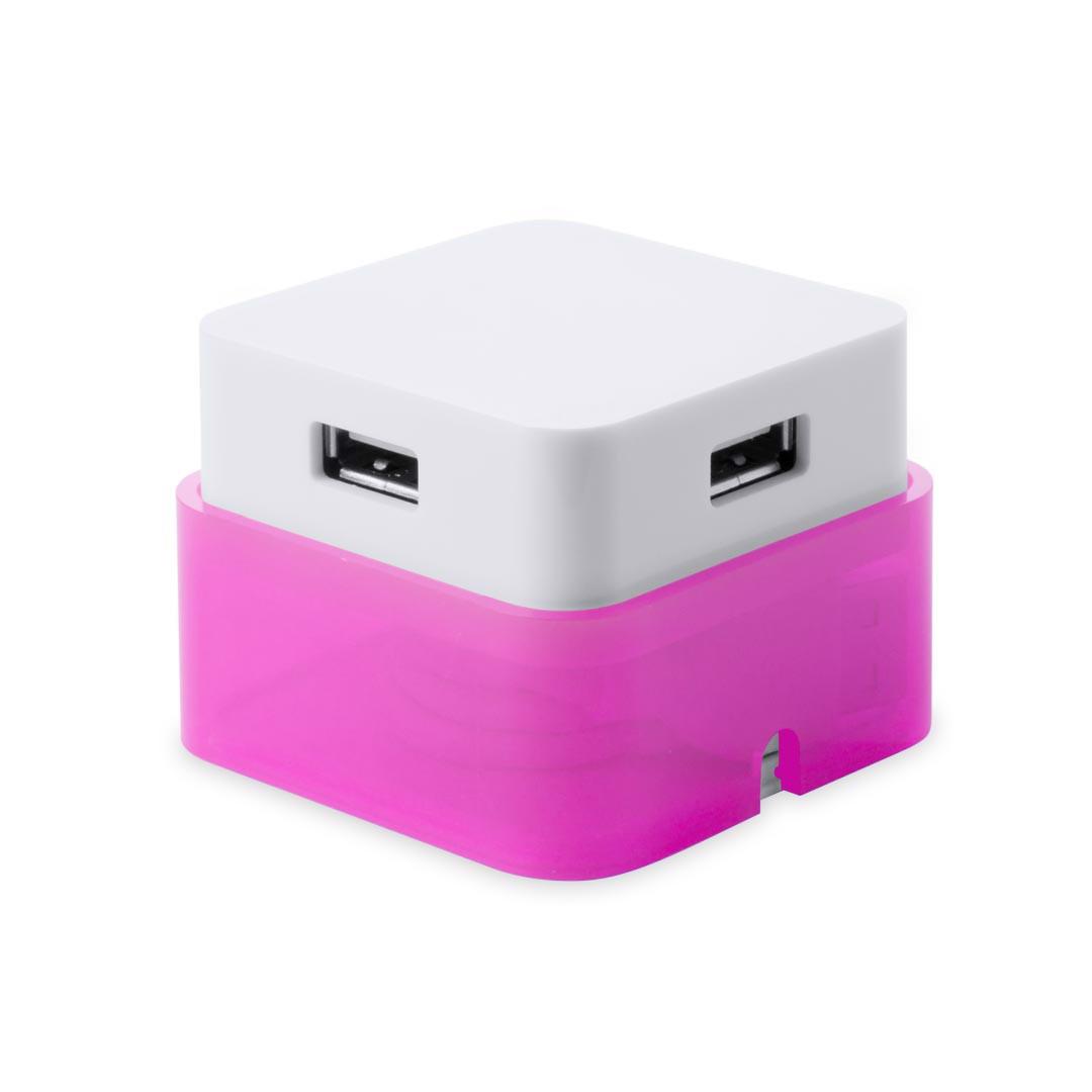 Puerto USB Dix - Fucsia