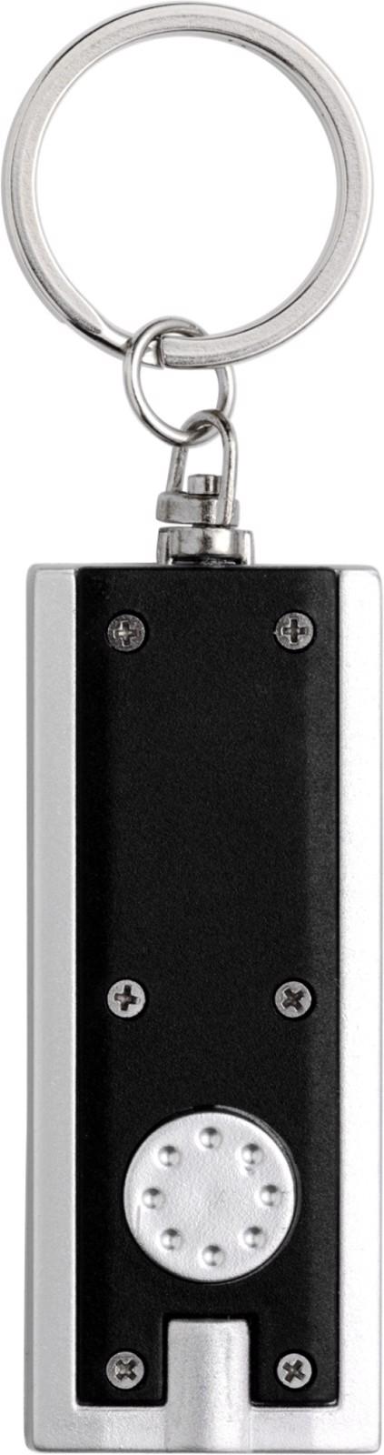 ABS key holder with LED - Black