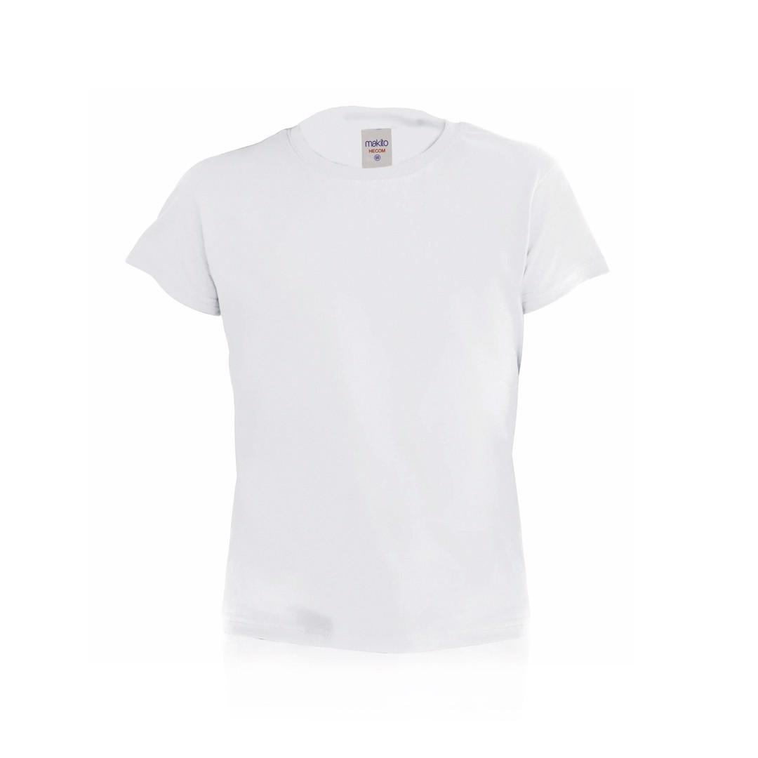Camiseta Niño Blanca Hecom - Blanco / 4-5
