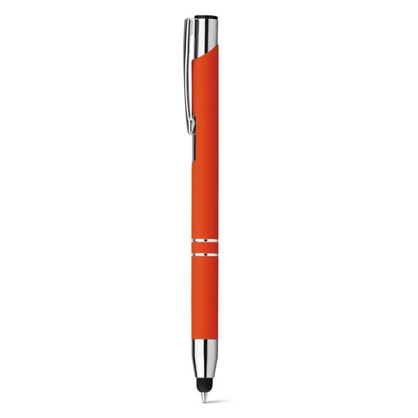 OLEG TOUCH SOFT. Kuličkové pero - Oranžová
