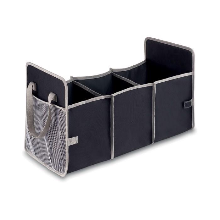 Foldable car organizer