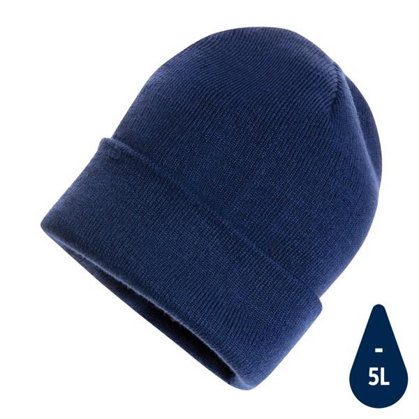 Beanie čepice Impact z Polylana® AWARE™ - Námořní Modř