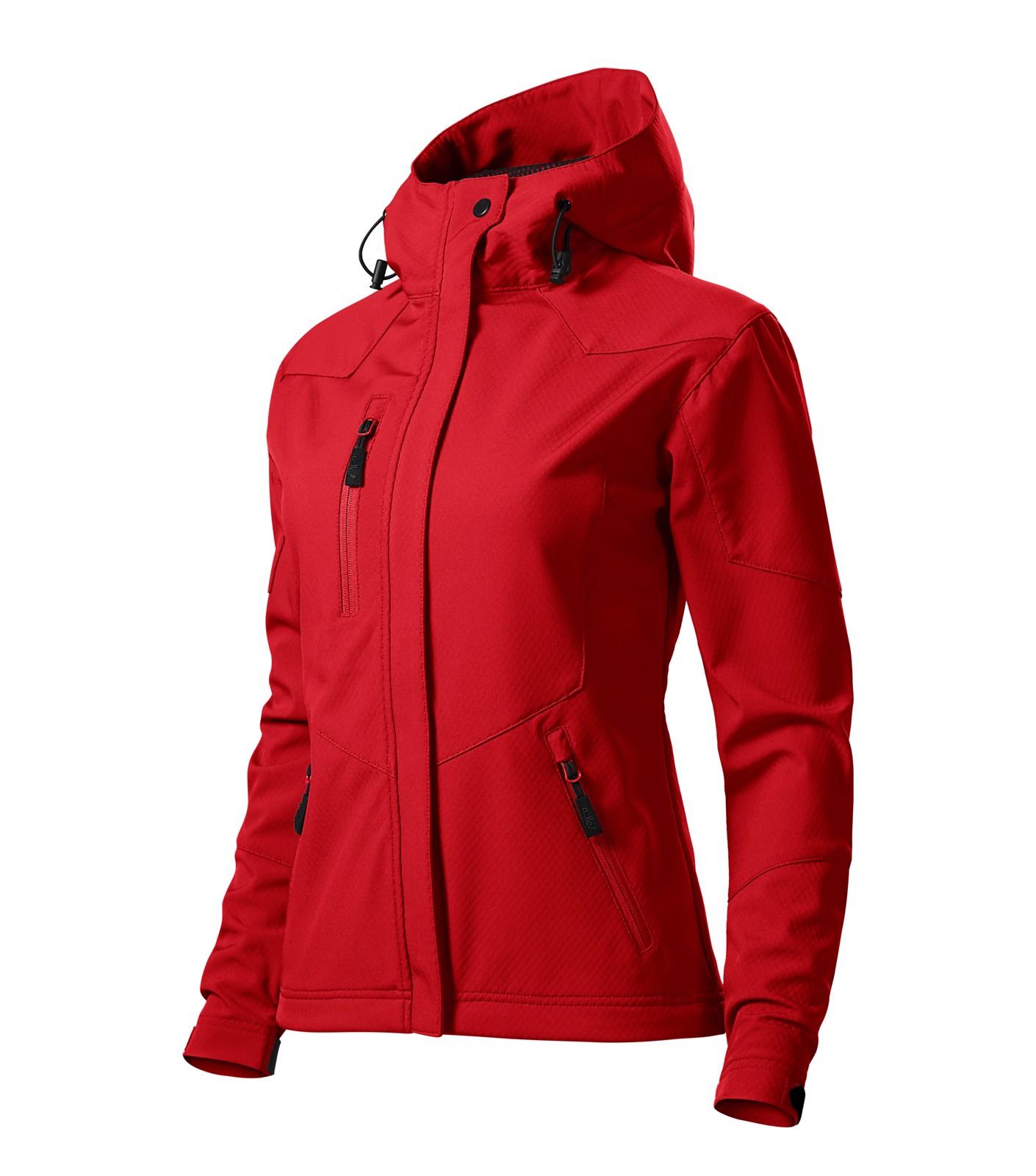 Softshellová bunda dámská Malfini Nano - Červená / 2XL