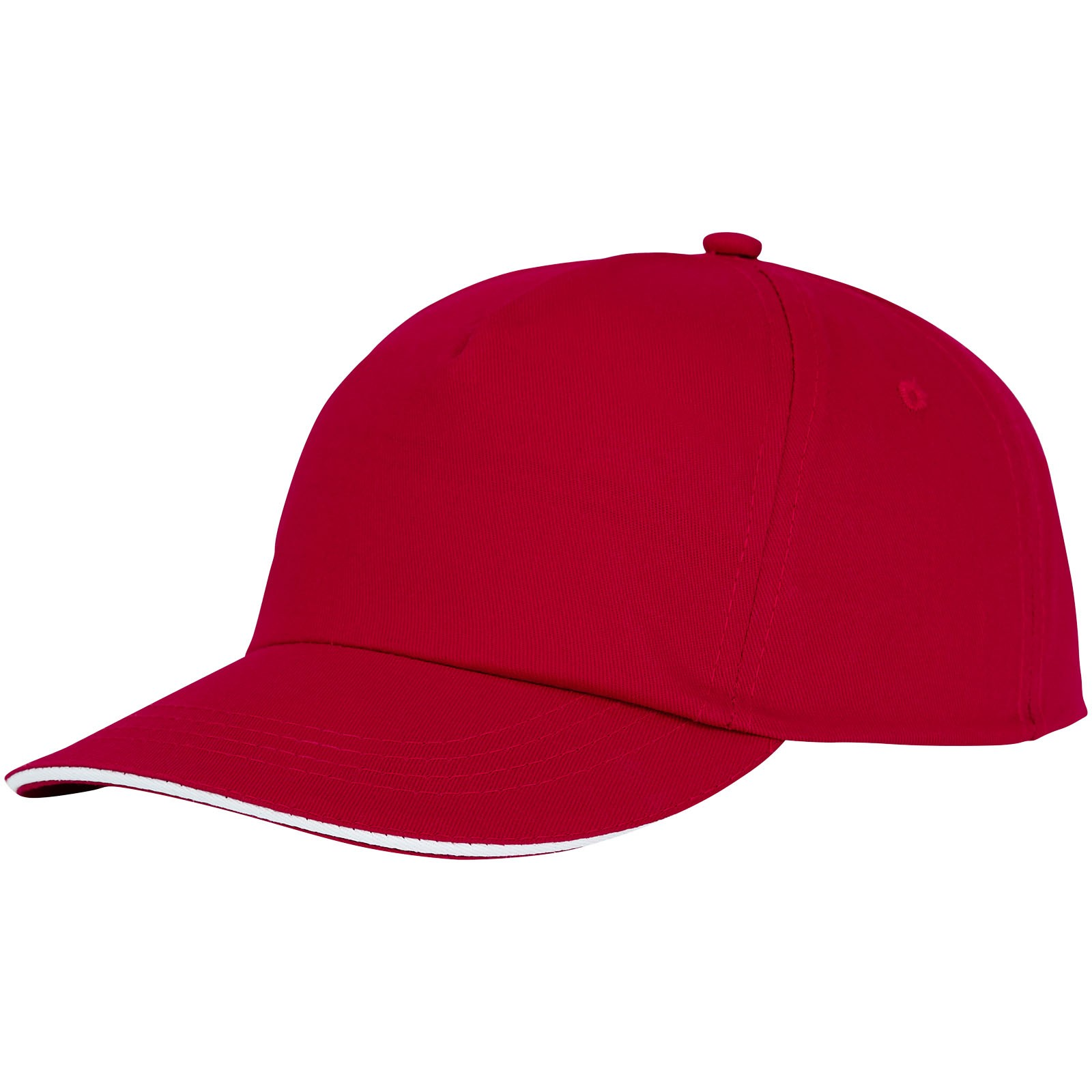Styx 5 panel sandwich cap - Red