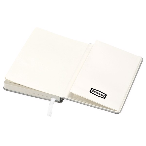 Classic A6 hard cover pocket notebook - Silver