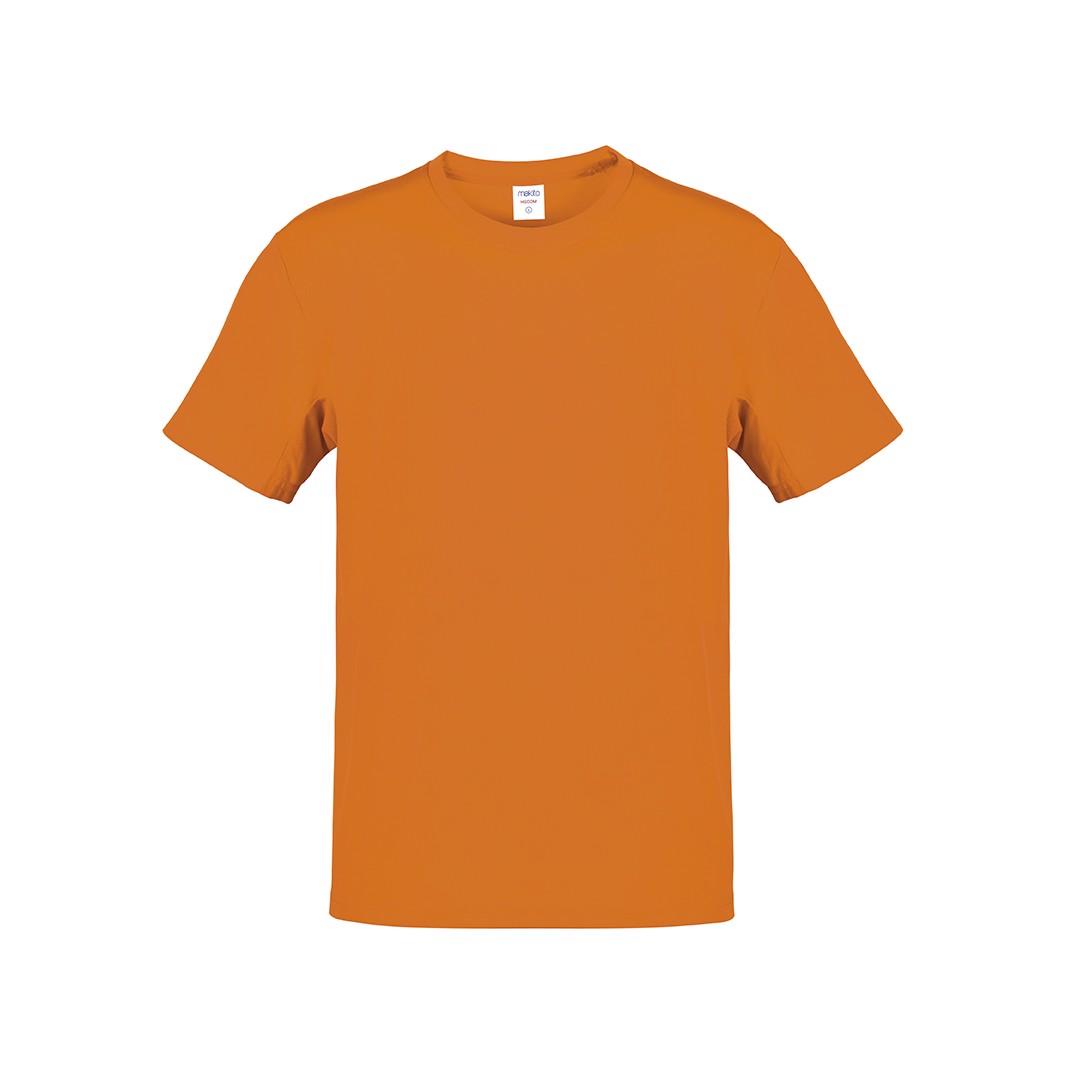 Camiseta Adulto Color Hecom - Naranja / S
