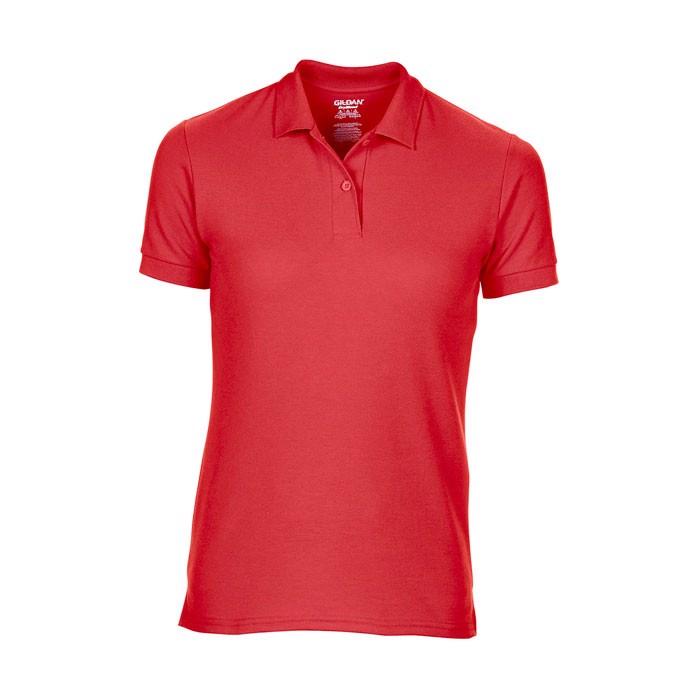 Piqué Polo Female Dryblend Ladies Pique 75800L - Red / XL