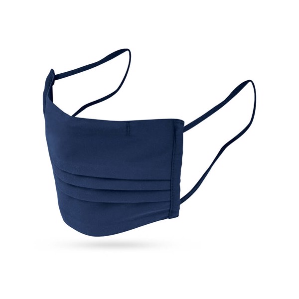 GRANCE. Mascarilla textil reutilizable - Azul