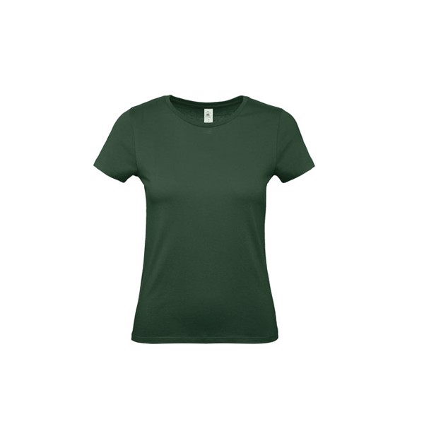 T-shirt female 185 g/m² #E190 /Women T-Shirt - Bottle Green / XS