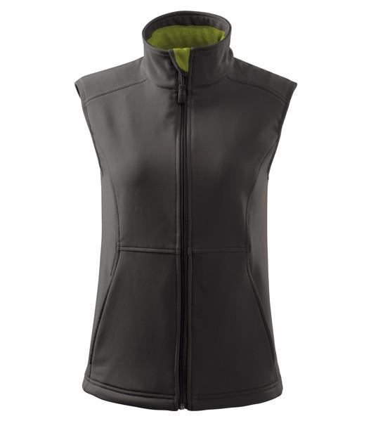 Softshellová vesta dámská Malfini Vision - Ocelově Šedá / XS
