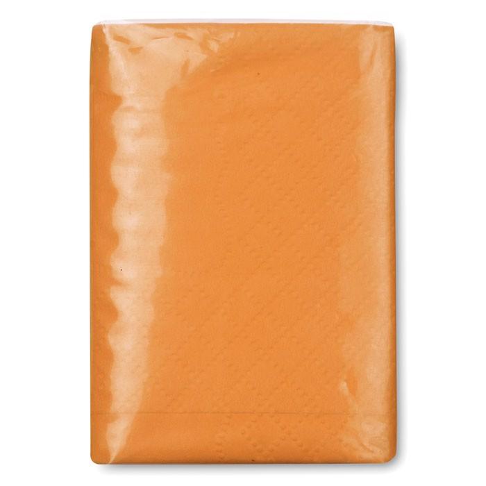 Mini chusteczki Sneezie - pomarańczowy