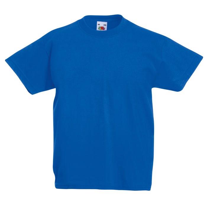 Kids t-shirt 165 g/m² Kids Value Weight 61-033-0 - Royal / XXL