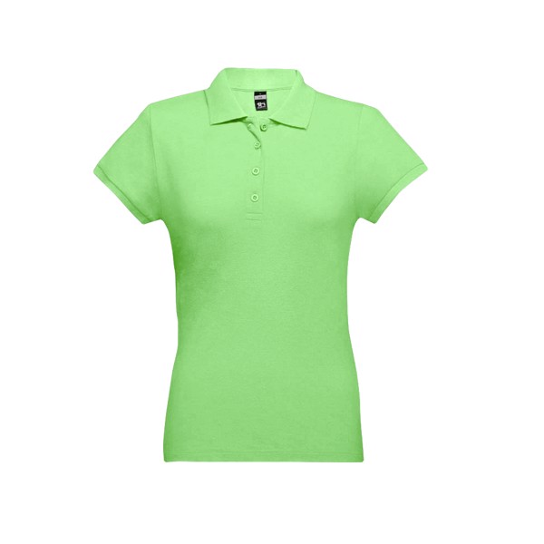EVE. Γυναικεία πόλο μπλούζα - Λαχανί / M
