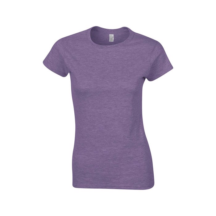 Ladies t-shirt 150 g/m² Lady-Fit Ring Spun 64000L - Heather Purple / L