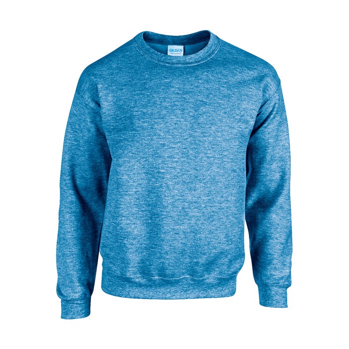 Unisex Bluza 255/270 g/m2 Heavy Blend Sweat 18000 - Heather Royal / M