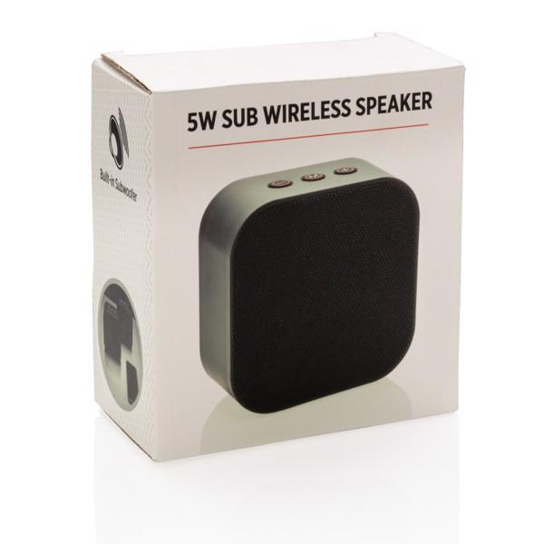 Sub 5W-os mélynyomós vezeték nélküli hangszóró