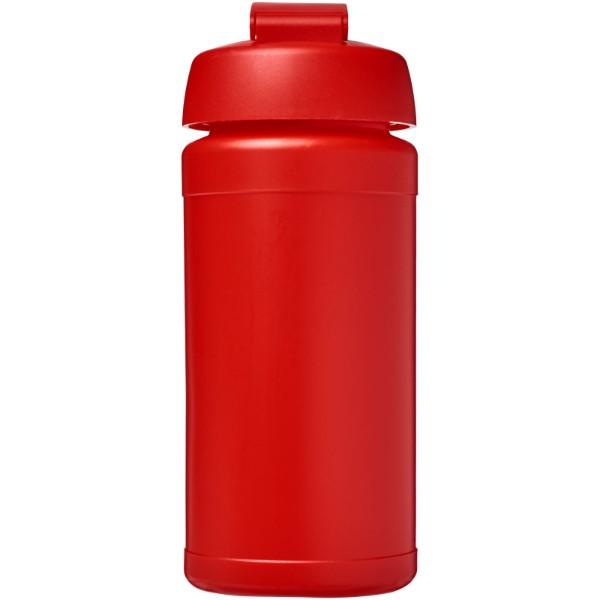 Baseline® Plus 500 ml flip lid sport bottle - Red