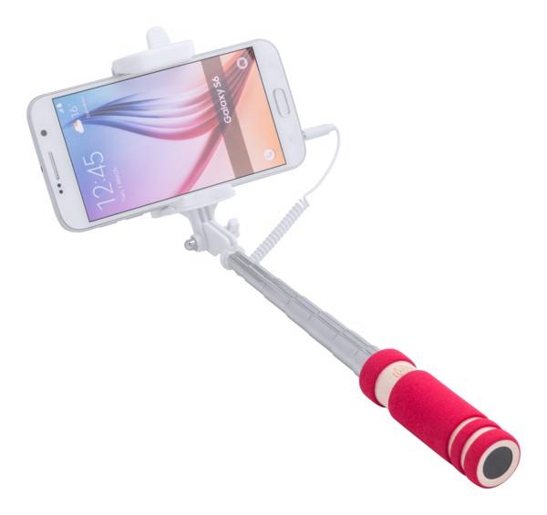 Selfie Stick Paicom - Roșu / Alb