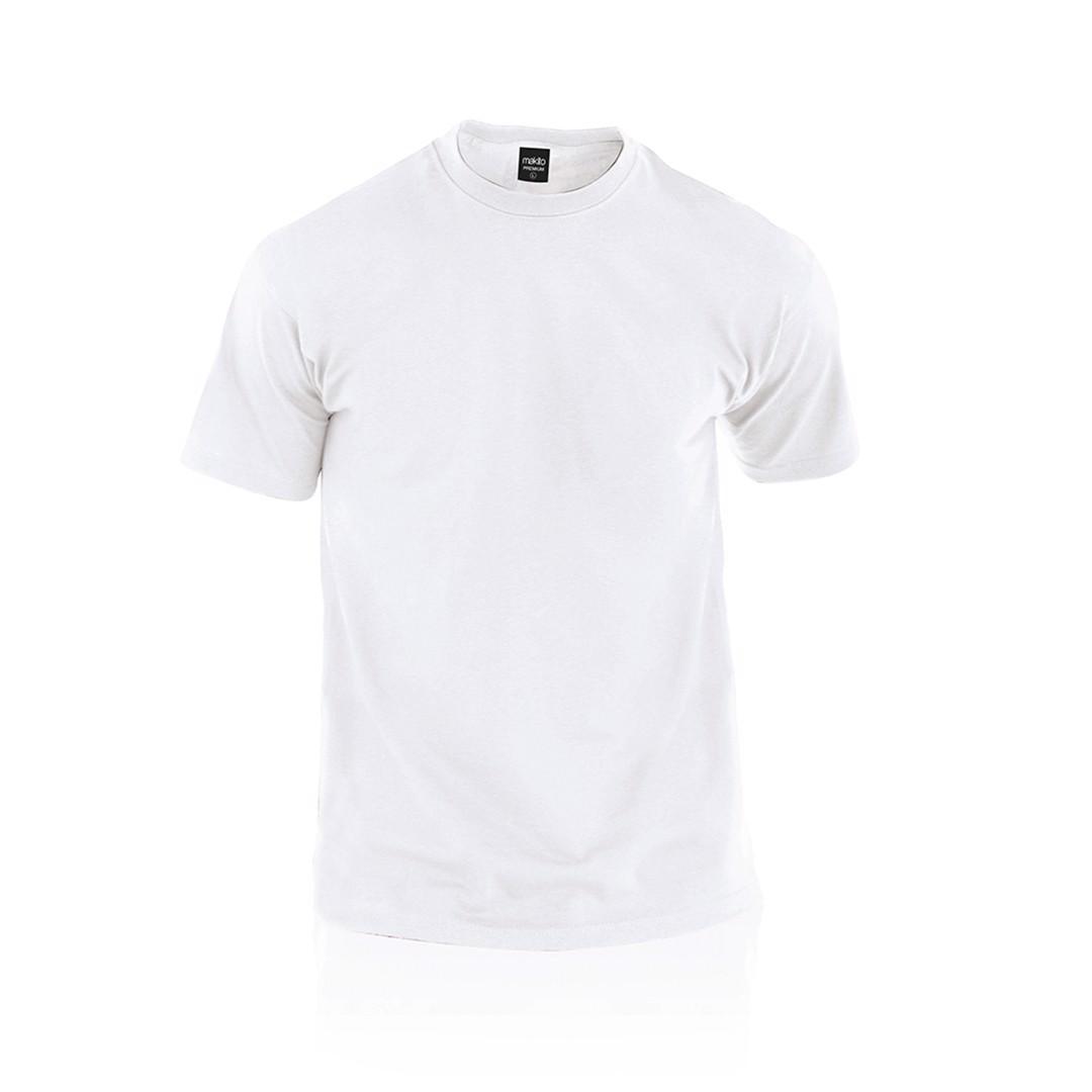 Camiseta Adulto Blanca Premium - Blanco / M