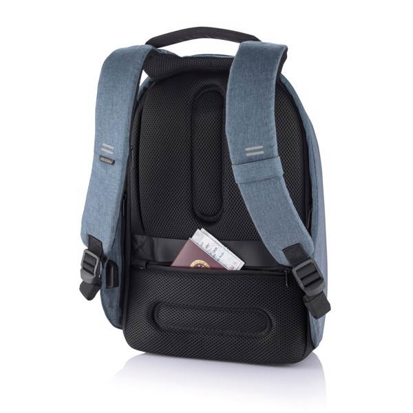 Bobby Hero Small, mochila antirrobo - Azul