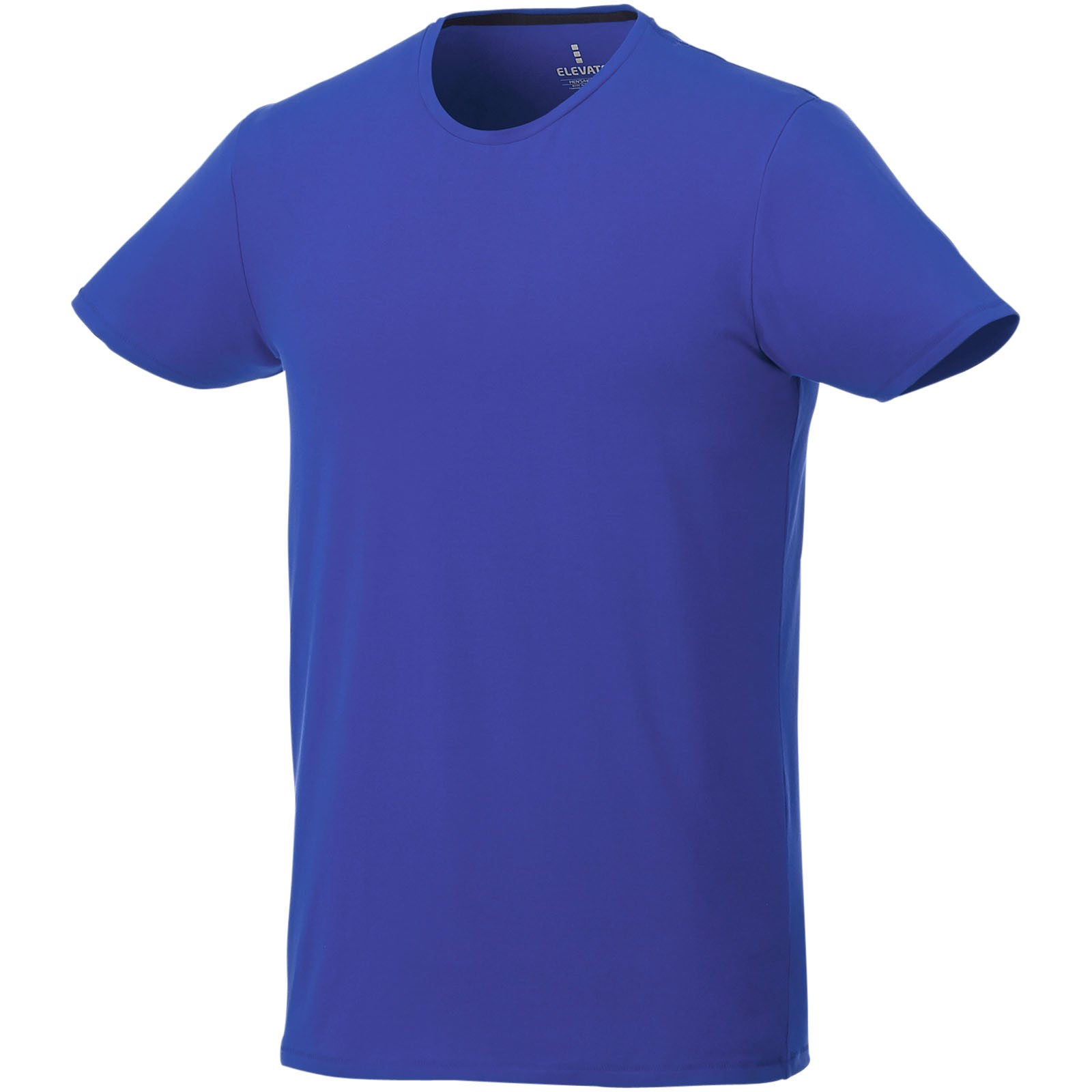 Balfour short sleeve men's GOTS organic t-shirt - Blue / XS
