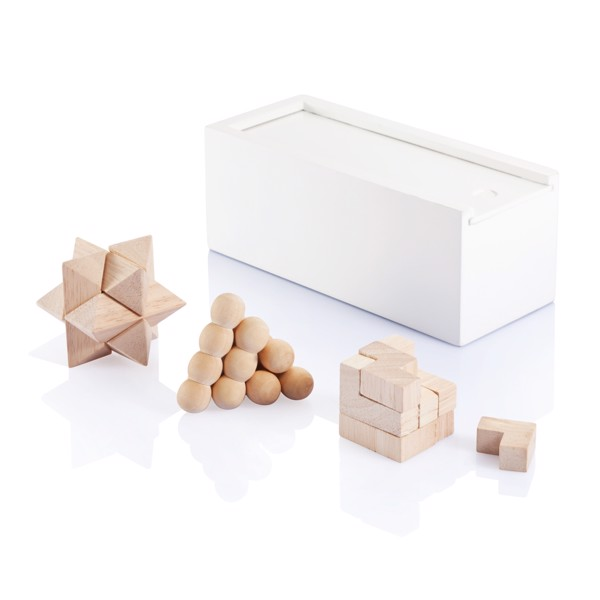 Set 3 piezas rompecabezas