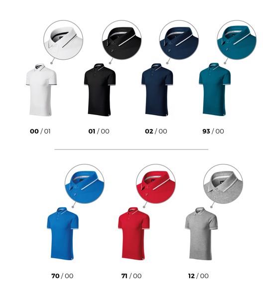Polo Shirt men's Malfinipremium Perfection plain - Navy Blue / S