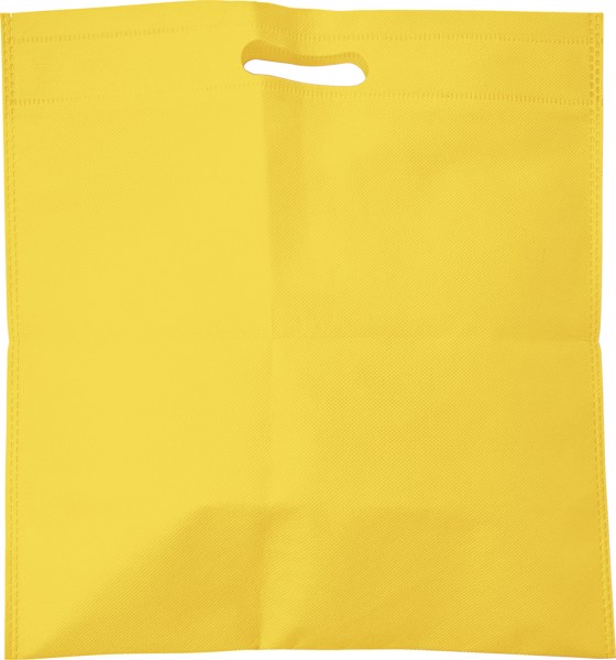 Nonwoven (70 gr/m²) document bag - Yellow