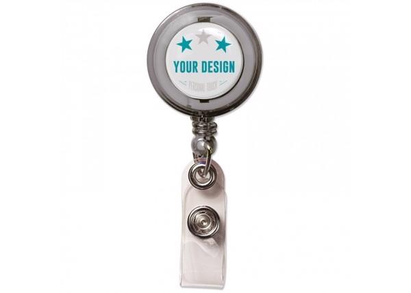 Card holder - Transparent Grey