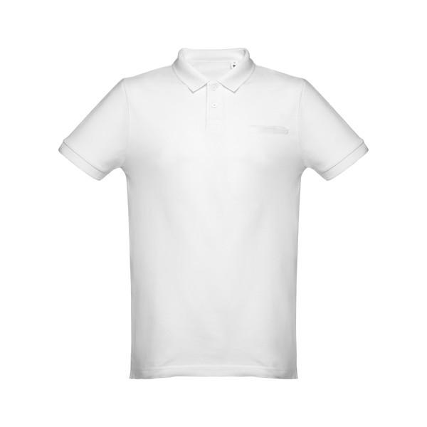 DHAKA. Herren Poloshirt - Weiß / XXL