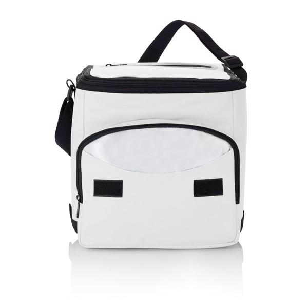 Foldable cooler bag - White / Silver