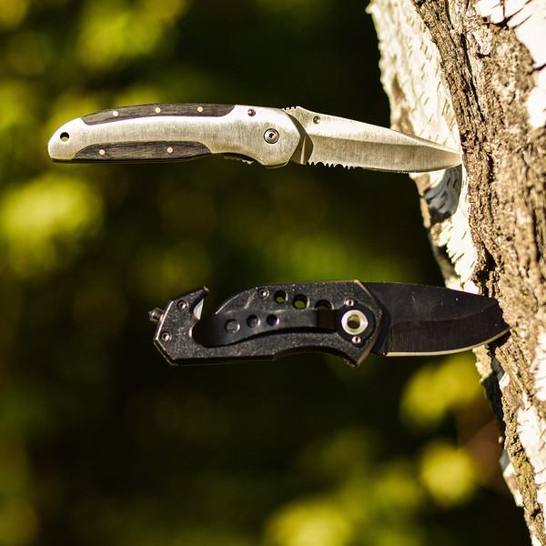 Nóż składany Intact - Czarny