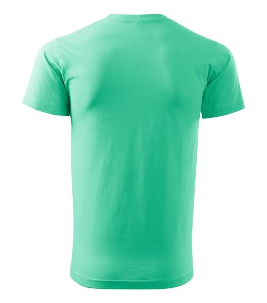 Tričko pánské Malfini Basic - Mátová / 4XL