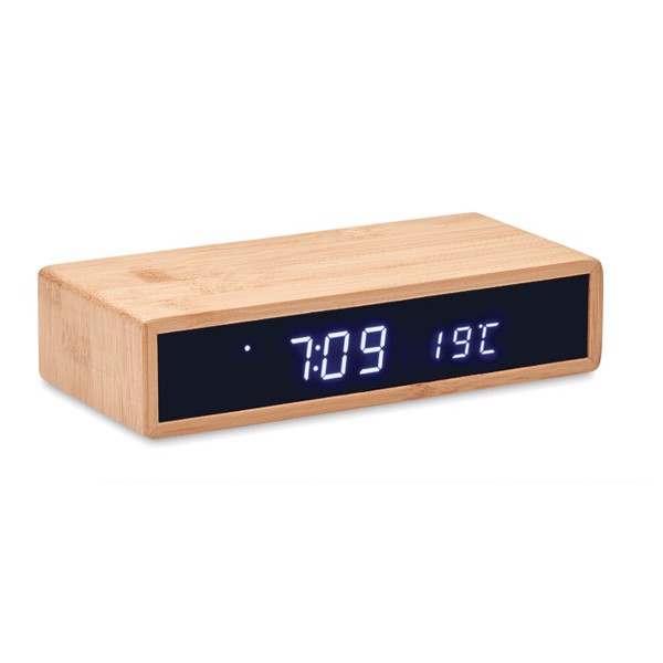 Wireless charger in bamboo Moro