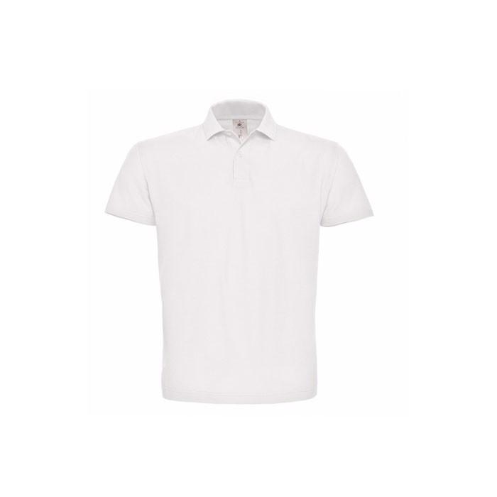 Piqué polokošile Pique Polo Shirt Id.001 Pui10 - White / XS