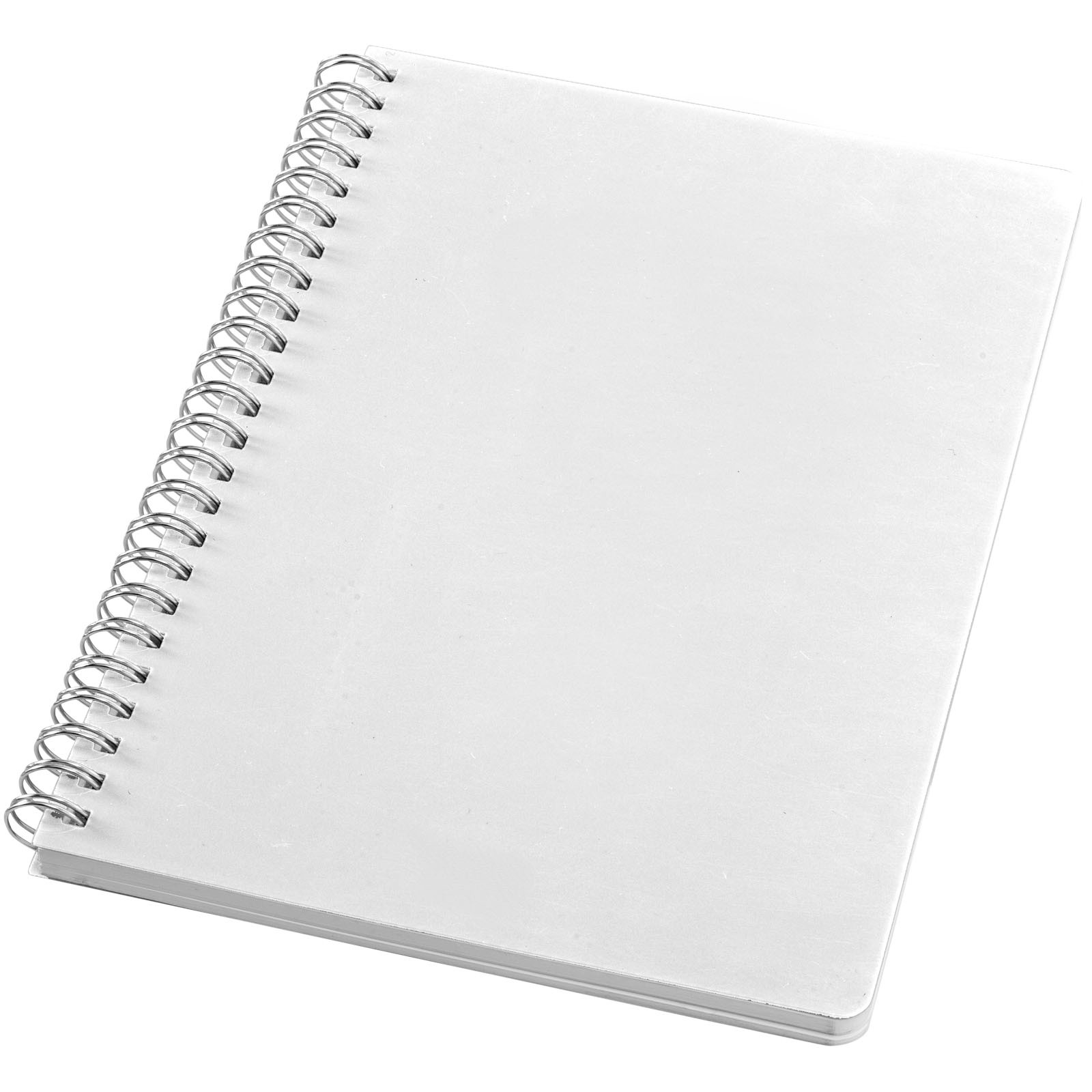 Happy-colours large spiral notebook - White
